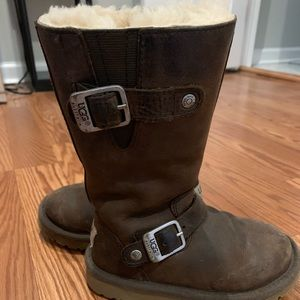 Kids Leather Uggs
